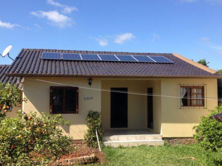 Gerador de energia solar em Viamão, Rio Grande do Sul