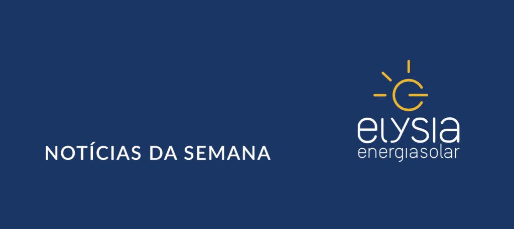 Notícias sobre energia solar fotovoltaica - Elysia Energia Solar Porto Alegre Rio Grande do Sul