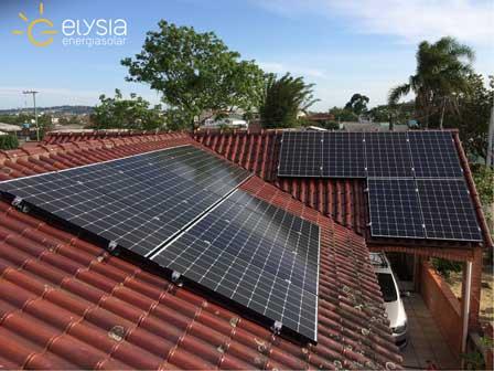 Gerador de Energia Solar em Alvorada