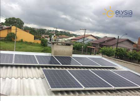 Sistema de energia solar em São Leopoldo - Rio Grande do Sul