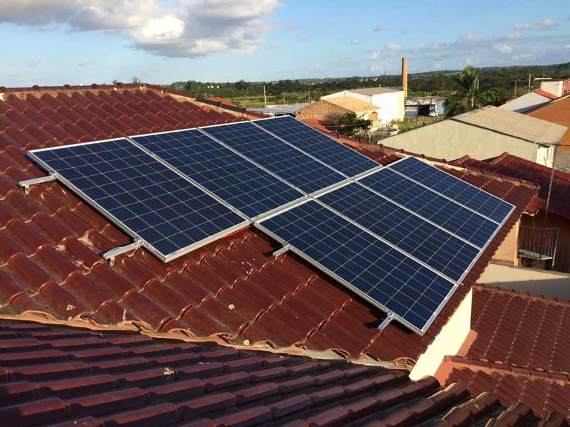 Gerador de energia solar em Gravataí