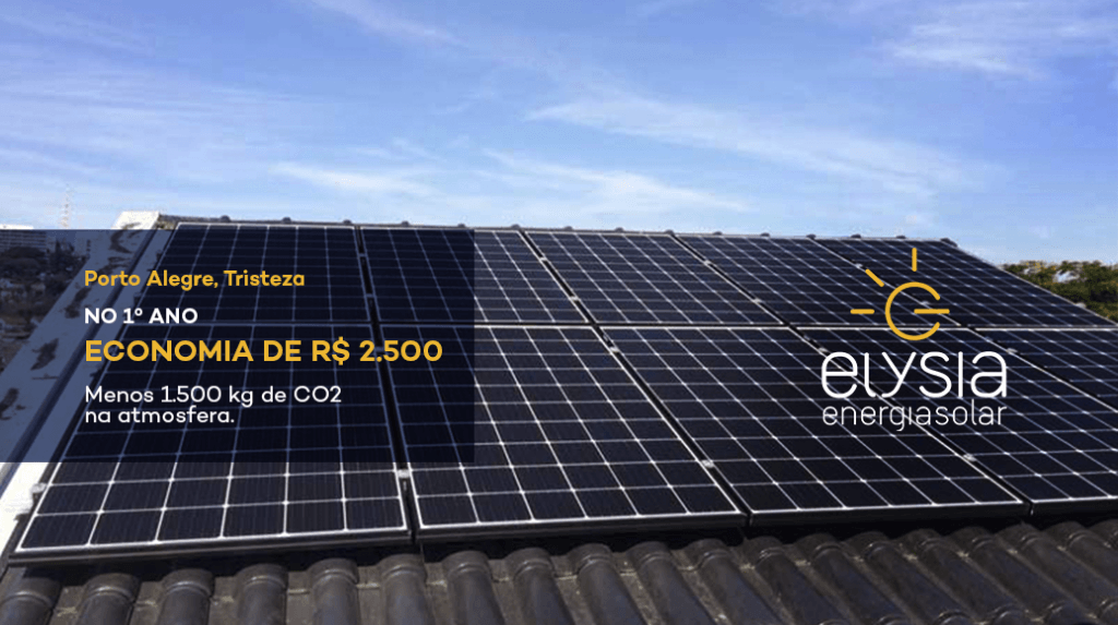 Modo de economia de energia - Elysia Energia Solar Porto Alegre Rio Grande do Sul