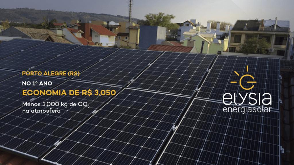 Gerar energia solar em Porto Alegre - Elysia energia solar Rio Grande do Sul