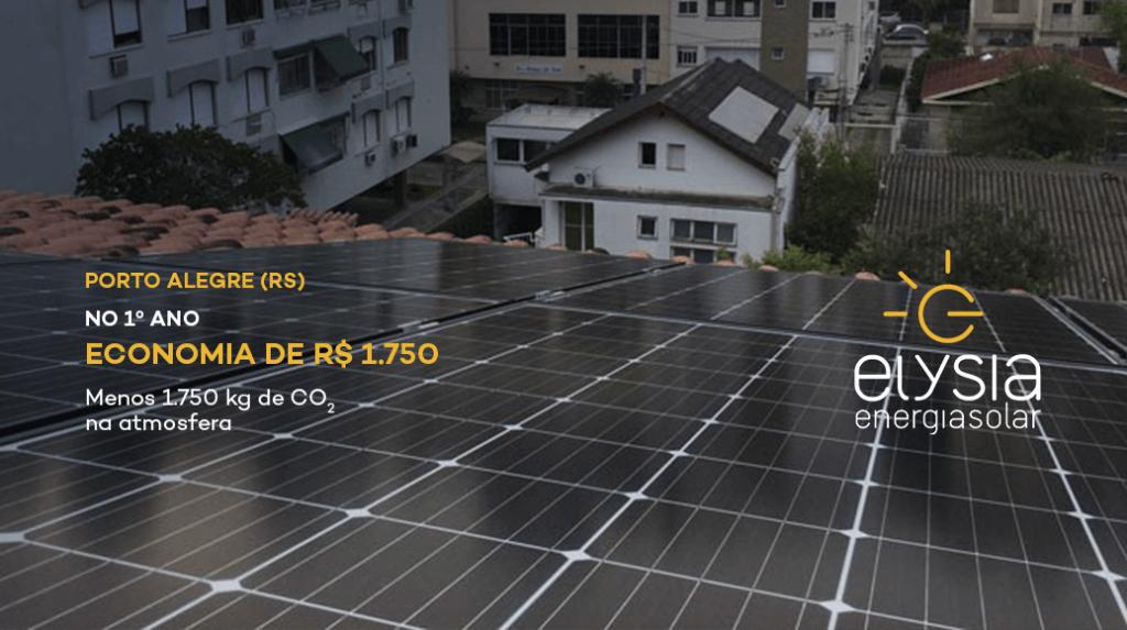 Gerar a própria energia em Porto Alegre - Elysia energia solar Rio Grande do Sul