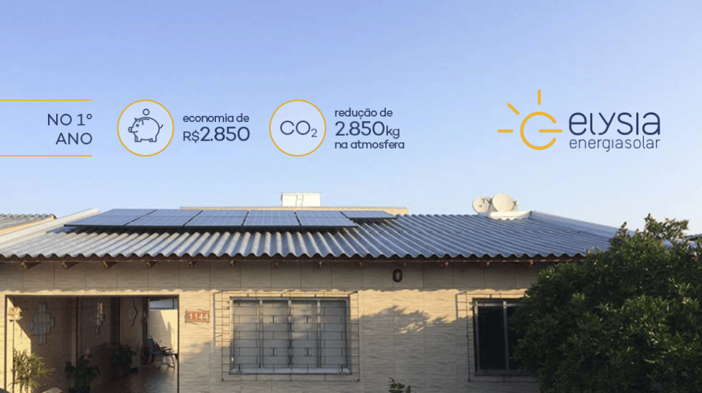 Sistema fotovoltaico em Eldorado do Sul - Elysia Rio Grande do Sul