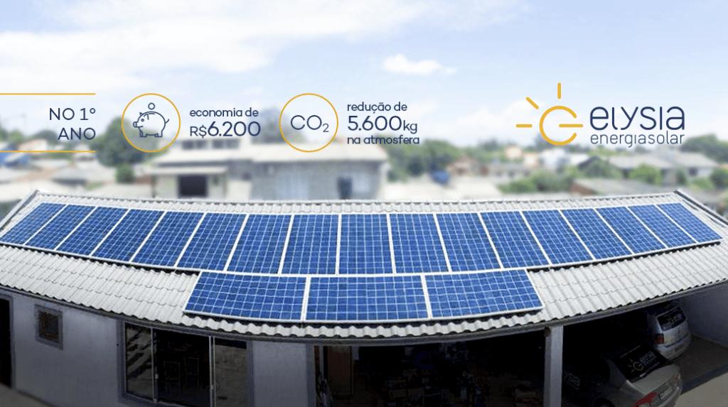 Energia solar em Esteio - Elysia empresa energia solar Rio Grande do Sul