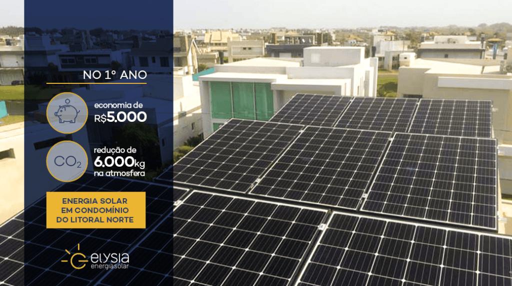 Energia solar em casa de Xangri-lá - Elysia energia solar Porto Alegre Rio Grande do Sul