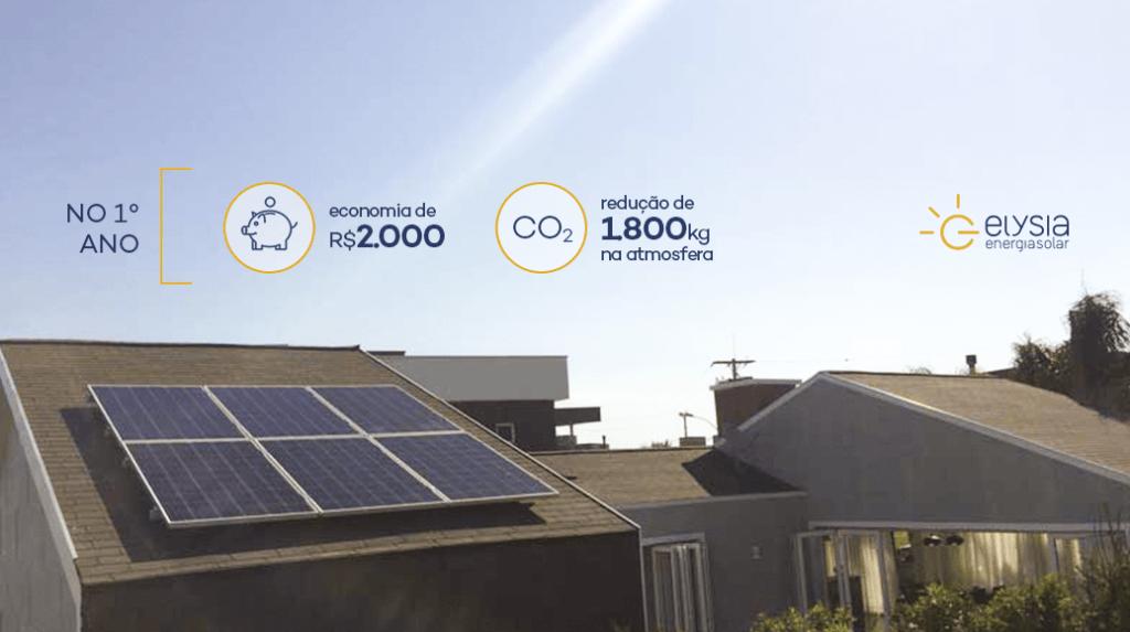 Energia solar em condomínio de Xangri-lá, no litoral norte - Elysia energia solar Porto Alegre Rio Grande do Sul