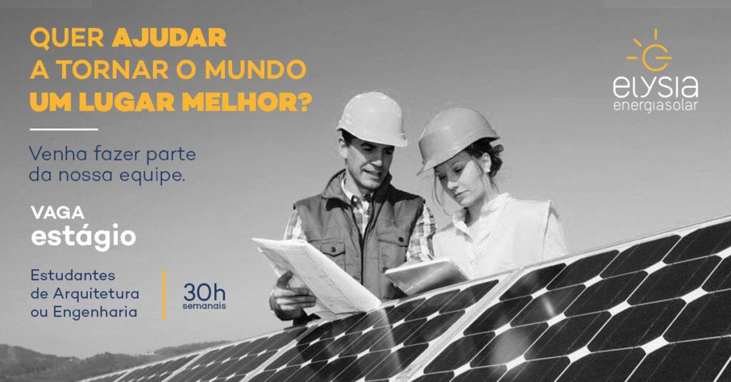 Trabalhe com energia solar - Elysia Energia Solar Porto Alegre Rio Grande do Sul