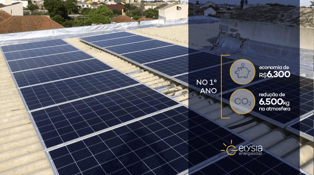 Sistema fotovoltaico em Canoas - Elysia energia solar Porto Alegre Rio Grande do Sul