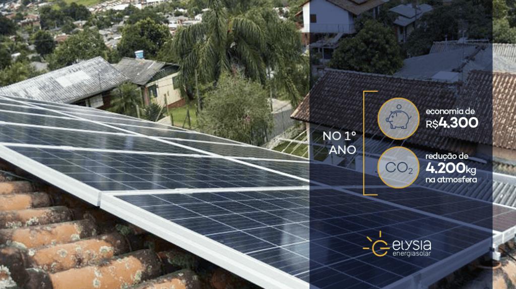 Energia solar fotovoltaica em Novo Hamburgo - Elysia energia solar Rio Grande do Sul