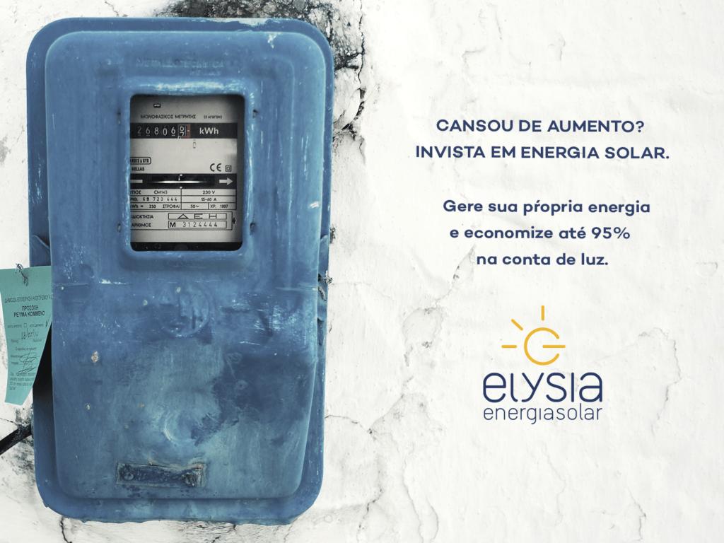 Aumento na conta de luz - Elysia energia solar Rio Grande do Sul Porto Alegre