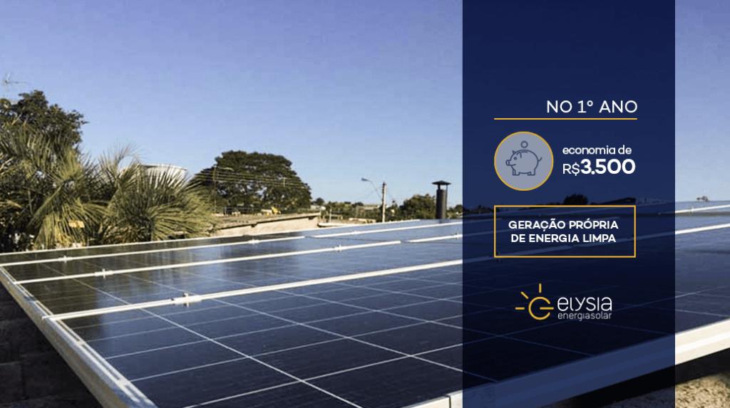 Energia solar fotovoltaica em Esteio - Elysia sistema fotovoltaico Rio Grande do Sul Porto Alegre