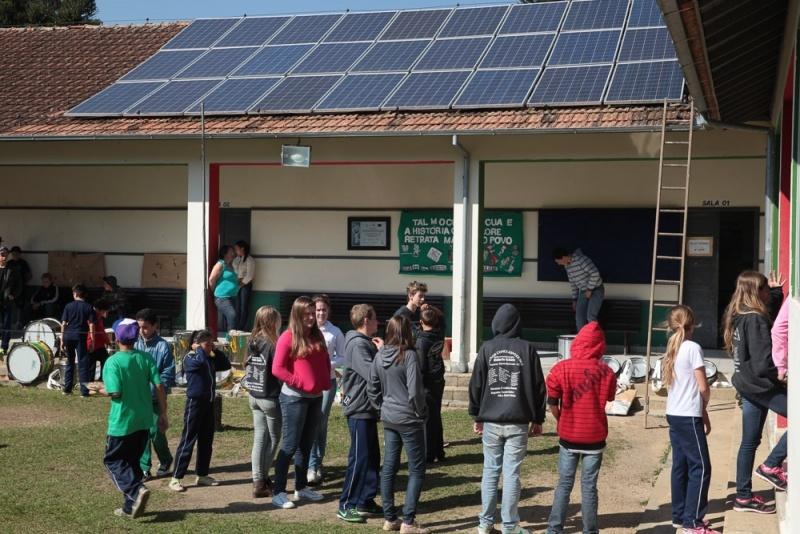 Energia solar em escolas - Elysia energia solar Porto Alegre Rio Grande do Sul
