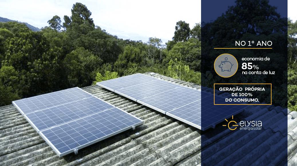 Instalação de energia solar em Gravataí - Elysia energia solar Porto Alegre Rio Grande do Sul