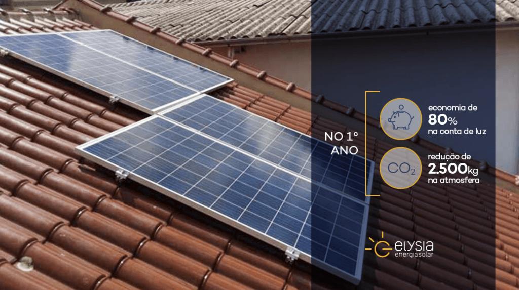 Energia solar residencial em Gravataí - Elysia energia solar Porto Alegre Rio Grande do Sul