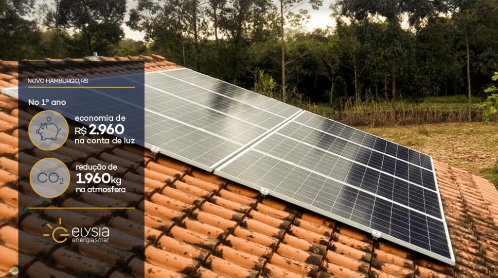 Sistema de energia solar em Novo Hamburgo - Elysia energia fotovoltaica Rio Grande do Sul