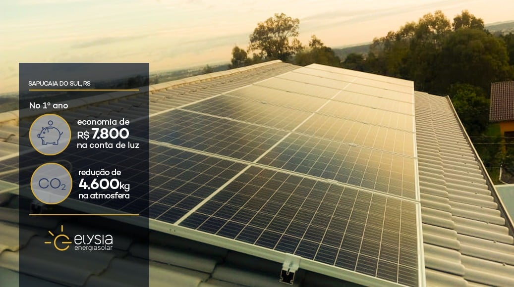 Energia solar em Sapucaia do Sul - Elysia Energia Solar Porto Alegre Rio Grande do Sul