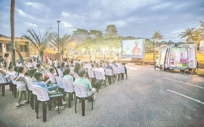 cinema solar - Elysia energia fotovolatica Rio Grande do Sul