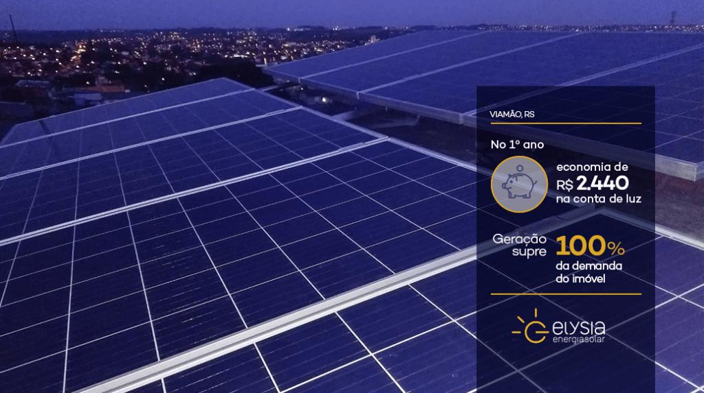 Energia fotovoltaica em Viamão - Elysia energia solar Rio Grande do Sul
