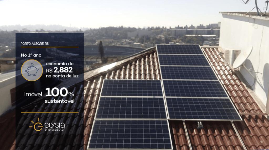 Empresa de energia solar em Porto Alegre - Elysia sistema fotovoltaico RS