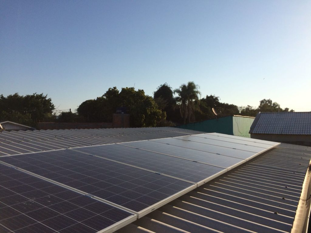 Energia solar em Arroio dos Ratos
