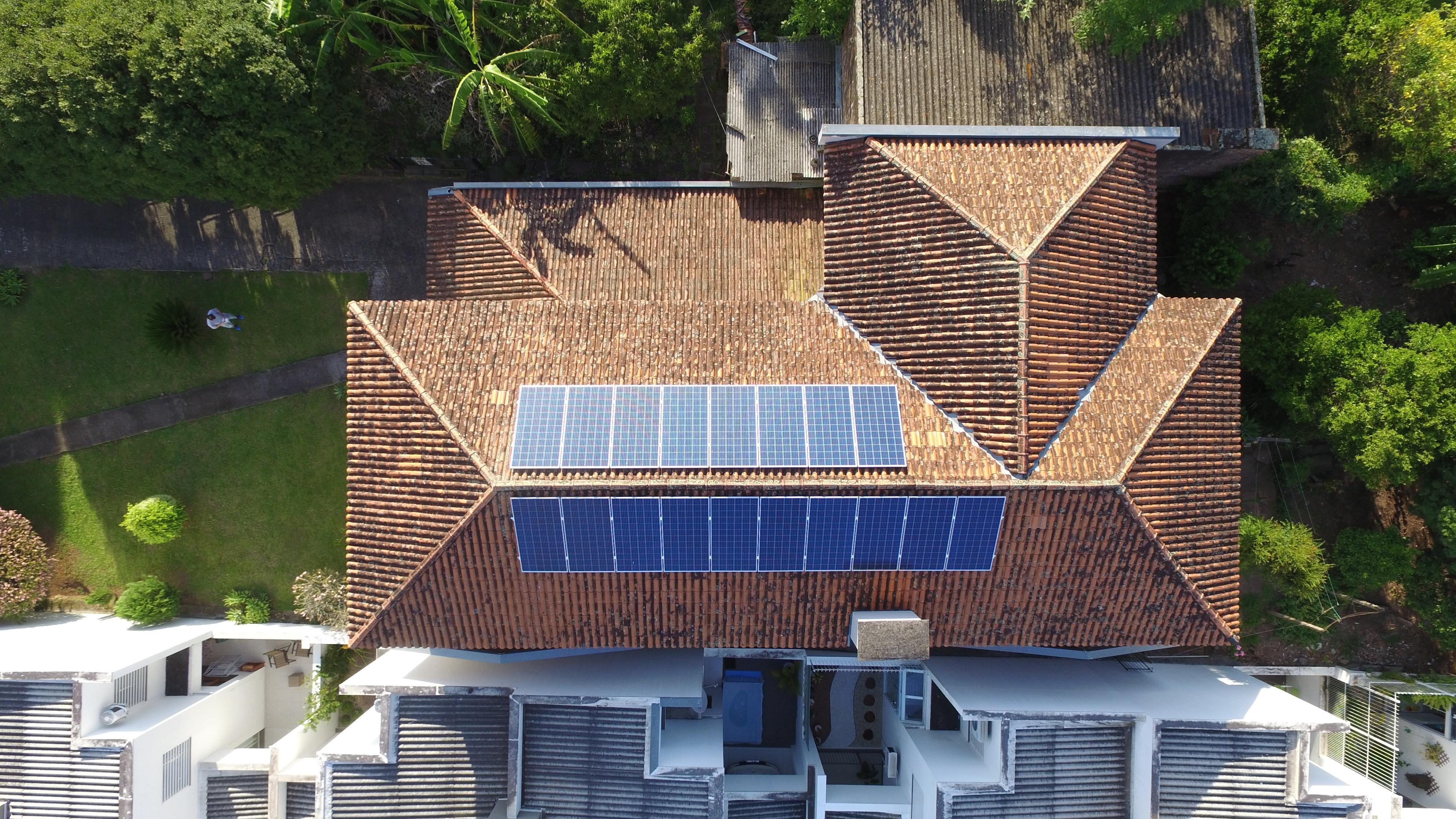 Energia solar no interior do Rio Grande do Sul