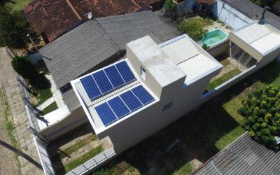 Energia solar fotovoltaica na zona sul de Porto Alegre