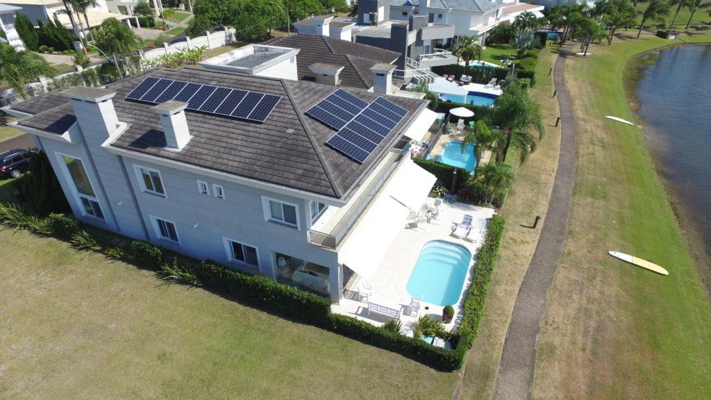 Energia solar em Atlântida - Elysia sistema fotovoltaico RS