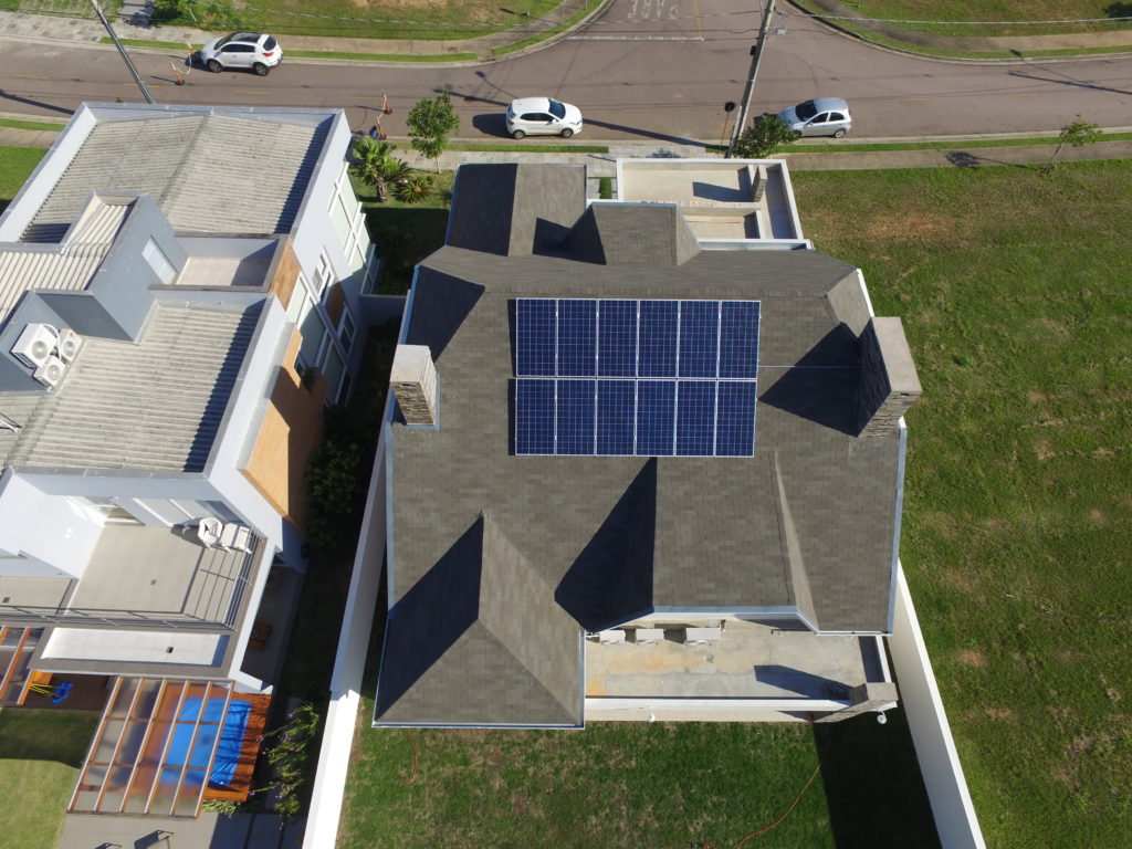 Geração de energia fotovoltaica em Porto Alegre - Elysia energia solar RS