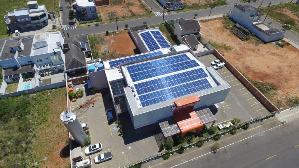 Uso de energia solar - Elysia sistema fotovoltaico Porto Alegre