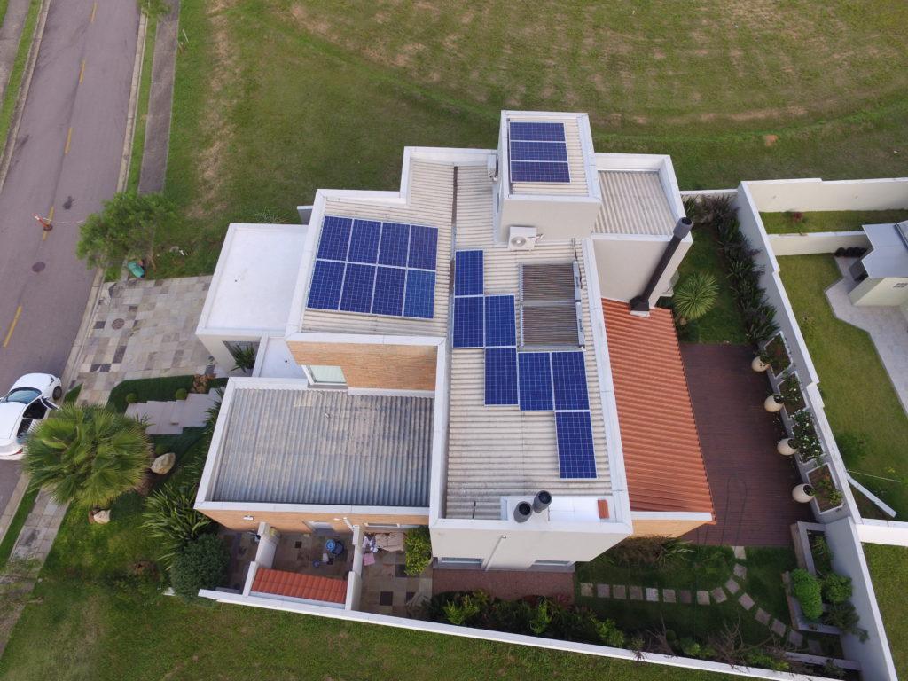 Energia fotovoltaica na zona sul de Porto Alegre