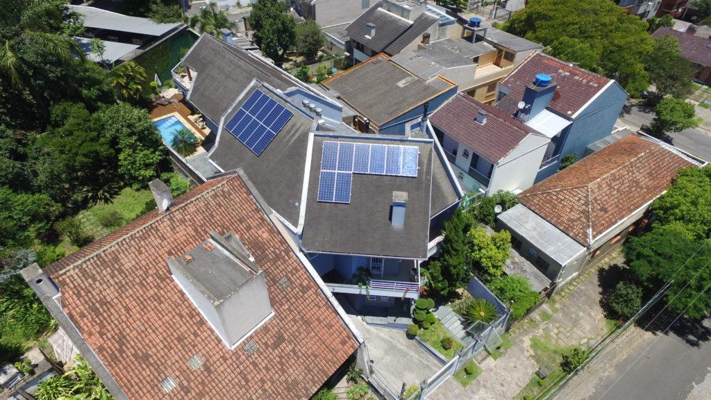 Tipos de instalação de energia solar - Elysia sistema fotovoltaico Porto Alegre