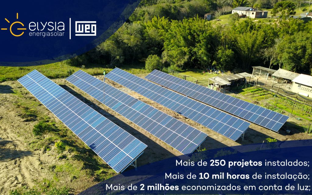 Empresa de energia solar no Rio Grande do Sul