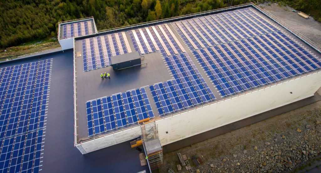 Energia solar em fábrica - Elysia sistema fotovoltaico Rio Grande do Sul