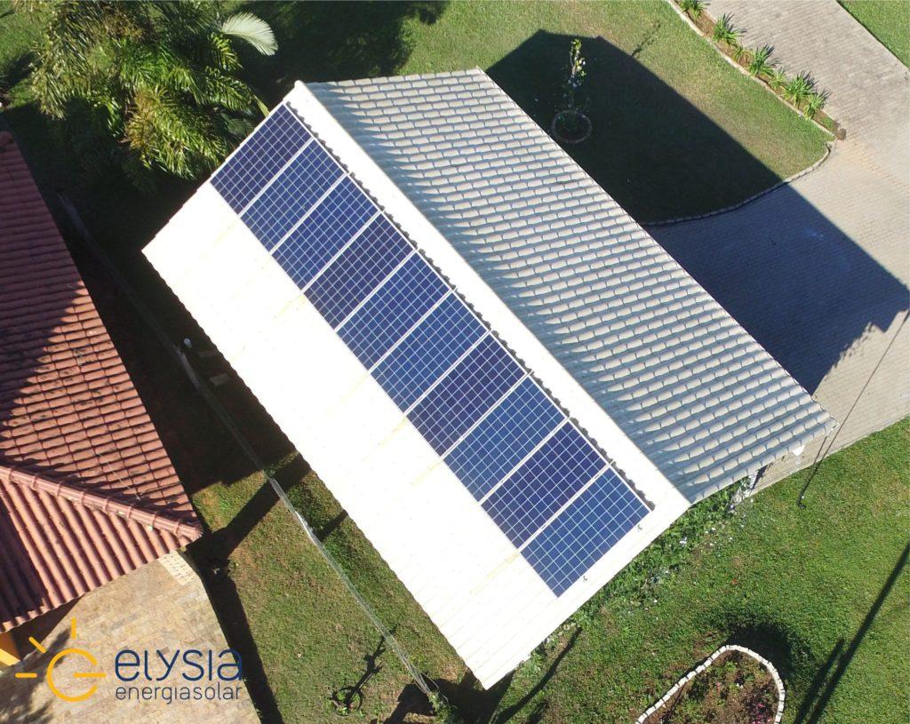 Energia solar Nova Santa Rita - Elysia sistema fotovoltaico RS