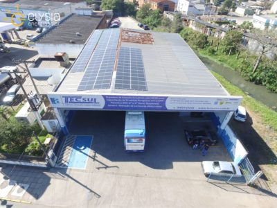 Energia solar comercial - Elysia sistrema fotovoltaico Esteio