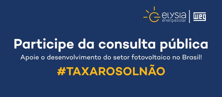 Consulta pública Aneel - Elysia energia solar Rio Grande do Sul