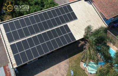 Energia solar residencial em Canoas - Elysia sistema fotovoltaico RS