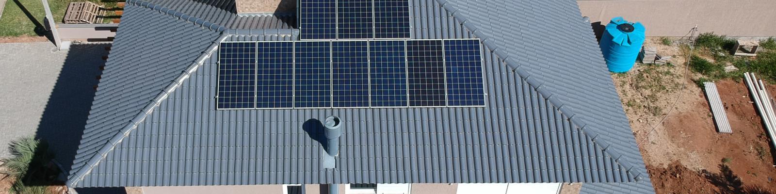 Projeto de energia solar em Viamão
