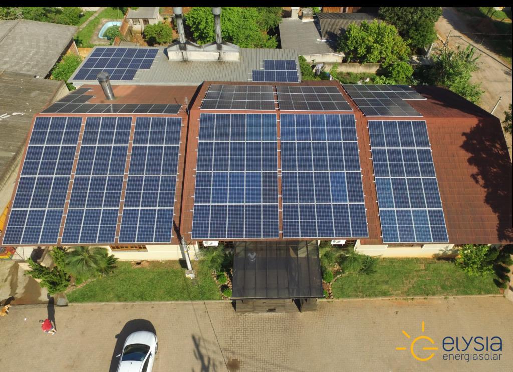 Energia solar comercial em Gravataí - Elysia sistema fotovoltaico Rio Grande do Sul