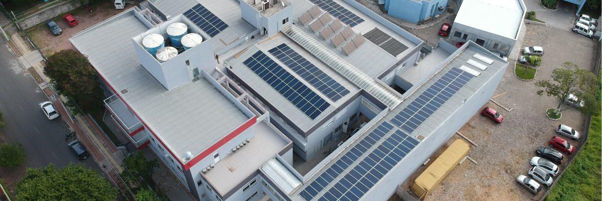 Energia solar em instituição social