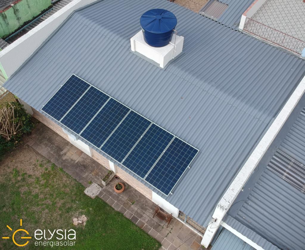 Projeto de sistema fotovoltaico em Porto Alegre