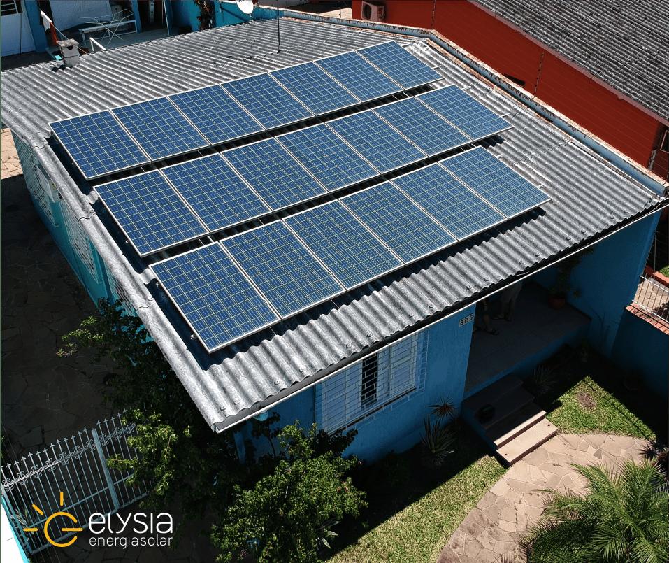 Projeto de energia solar em Esteio - Elysia sistema fotovoltaico RS