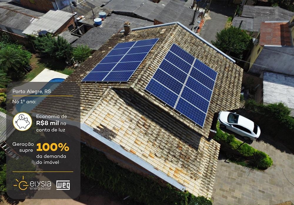 Elysia energia solar Porto Alegre