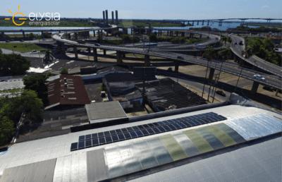 Energia solar em empresa - Elysia sistema fotovoltaico Porto Alegre