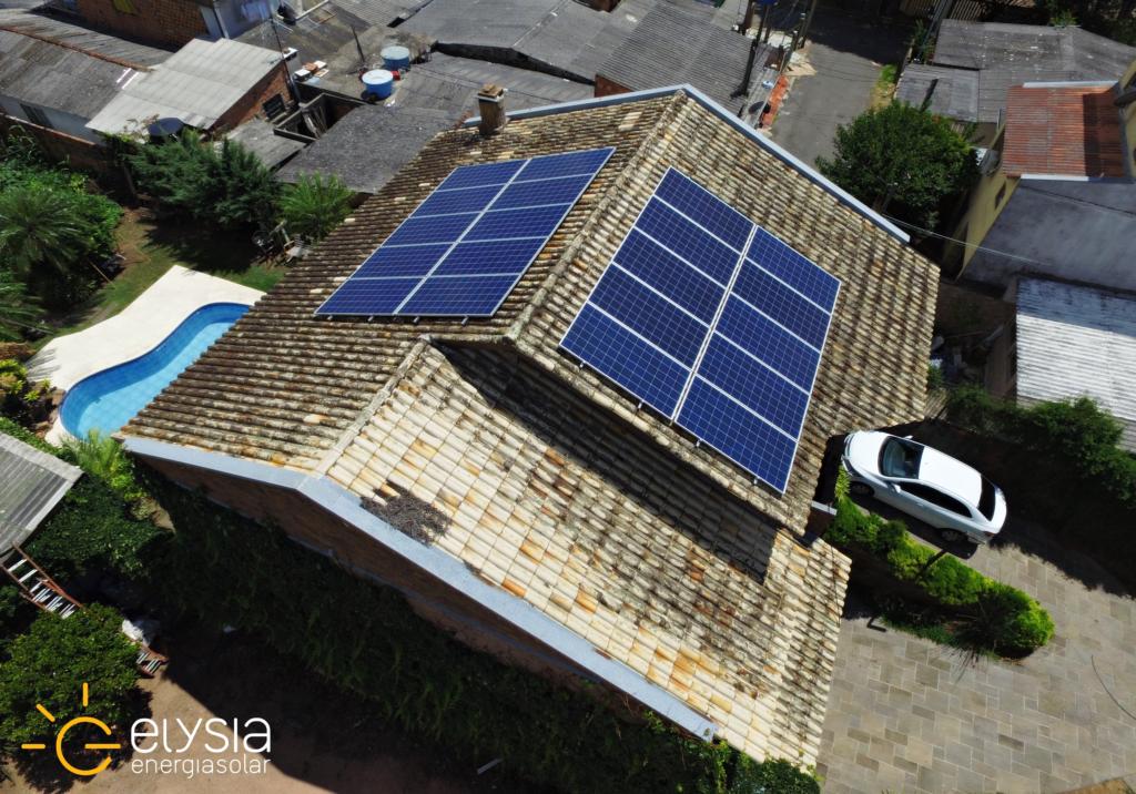 Energia solar residencial em Porto Alegre