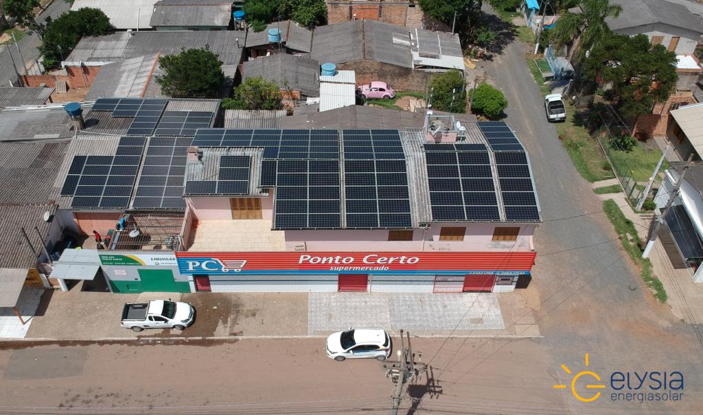 Energia solar comercial no Rio Grande do Sul
