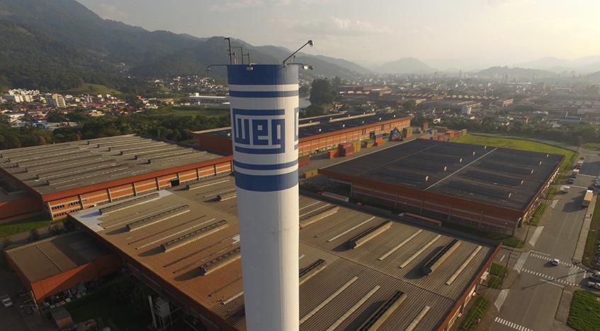 WEG - Elysia energia solar Brasil