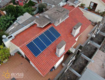 Sistema fotovoltaico compacto em Porto Alegre